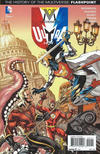 Cover Thumbnail for The Multiversity: Ultra Comics (2015 series) #1 [Yanick Paquette / Michel LaCombe History of the Multiverse Cover]