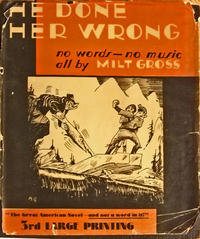 Cover Thumbnail for He Done Her Wrong (Doubleday, 1930 series)