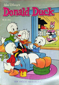Cover Thumbnail for Donald Duck (Oberon, 1972 series) #14/1990