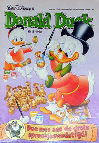 Cover Thumbnail for Donald Duck (Oberon, 1972 series) #16/1990