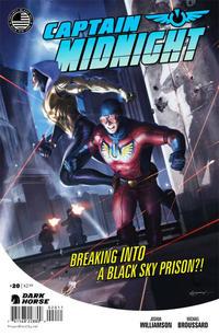 Cover Thumbnail for Captain Midnight (Dark Horse, 2013 series) #20