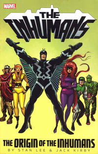 Cover Thumbnail for Inhumans: The Origin of the Inhumans (Marvel, 2013 series)