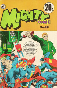 Cover Thumbnail for Mighty Comic (K. G. Murray, 1960 series) #92