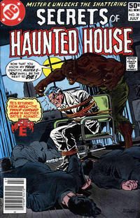 Cover Thumbnail for Secrets of Haunted House (DC, 1975 series) #38 [Newsstand Edition]