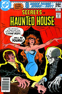 Cover Thumbnail for Secrets of Haunted House (DC, 1975 series) #30 [Newsstand]