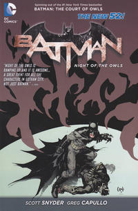 Cover Thumbnail for Batman: Night of the Owls (DC, 2013 series)