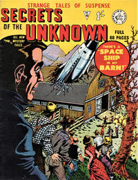 Cover Thumbnail for Secrets of the Unknown (Alan Class, 1962 series) #16