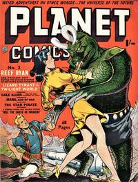 Cover Thumbnail for Planet Comics (Locker, 1951 series) #2