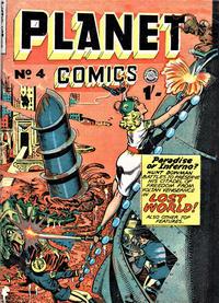 Cover Thumbnail for Planet Comics (Locker, 1951 series) #4