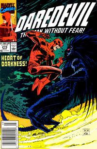 Cover Thumbnail for Daredevil (Marvel, 1964 series) #278 [Newsstand]