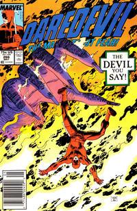 Cover Thumbnail for Daredevil (Marvel, 1964 series) #266 [Newsstand]