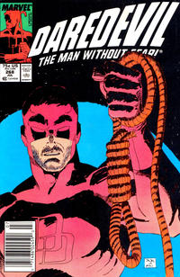 Cover for Daredevil (Marvel, 1964 series) #268 [Direct Edition]