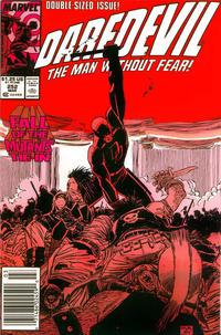 Cover Thumbnail for Daredevil (Marvel, 1964 series) #252 [Newsstand]