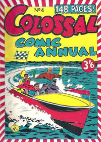 Cover Thumbnail for Colossal Comic Annual (K. G. Murray, 1956 series) #4