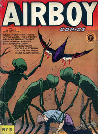 Cover Thumbnail for Airboy Comics (Thorpe & Porter, 1953 series) #3