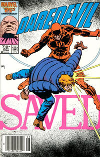 Cover Thumbnail for Daredevil (Marvel, 1964 series) #231 [Newsstand]