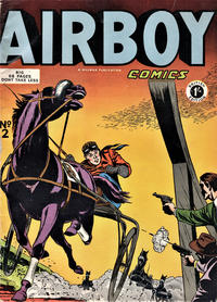 Cover Thumbnail for Airboy Comics (Thorpe & Porter, 1953 series) #2