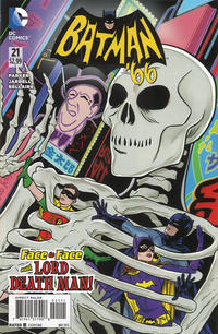 Cover Thumbnail for Batman '66 (DC, 2013 series) #21