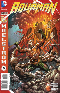 Cover Thumbnail for Aquaman (DC, 2011 series) #40 [Direct Sales]