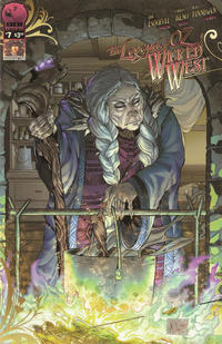 Cover Thumbnail for Legend of Oz: The Wicked West (Big Dog Ink, 2012 series) #7 [Cover B]