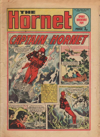 Cover for The Hornet (D.C. Thomson, 1963 series) #504