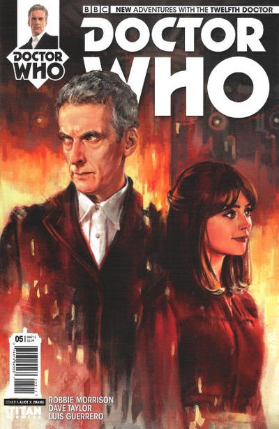 Cover for Doctor Who: The Twelfth Doctor (Titan, 2014 series) #5 [B Subscription]