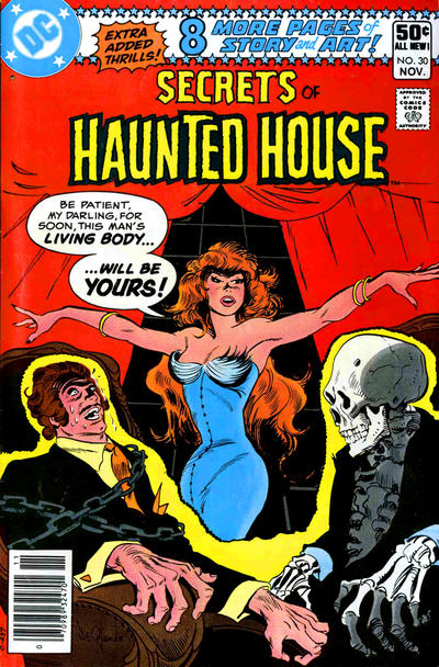 Cover for Secrets of Haunted House (DC, 1975 series) #30 [Direct Sales]
