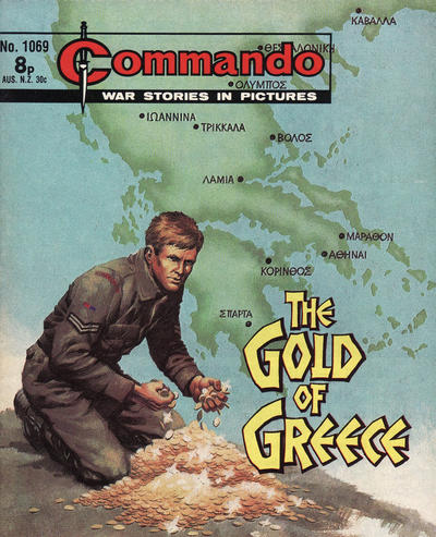 Cover for Commando (D.C. Thomson, 1961 series) #1069