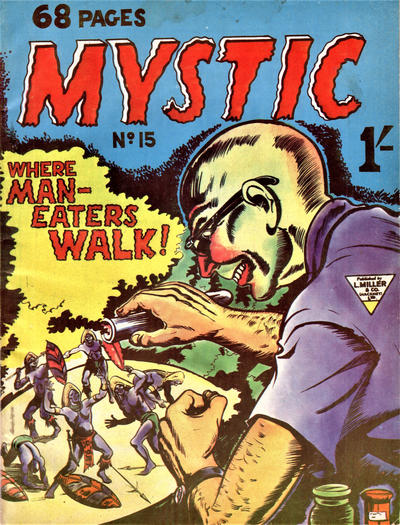 Cover for Mystic (L. Miller & Son, 1960 series) #15