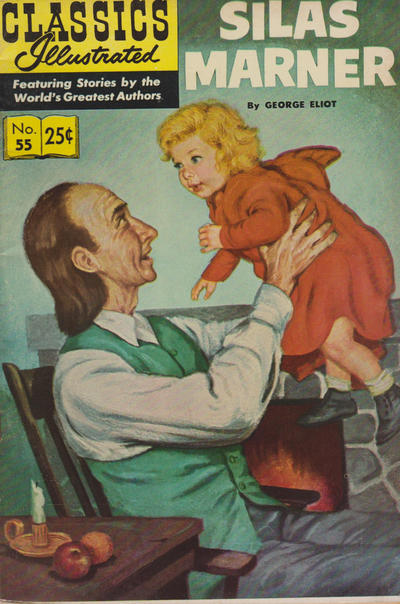 Cover for Classics Illustrated (Gilberton, 1947 series) #55 [HRN121] - Silas Marner