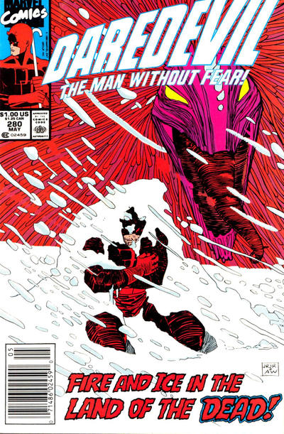 Cover for Daredevil (Marvel, 1964 series) #280 [Direct Edition]