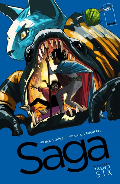 Cover for Saga (Image, 2012 series) #26