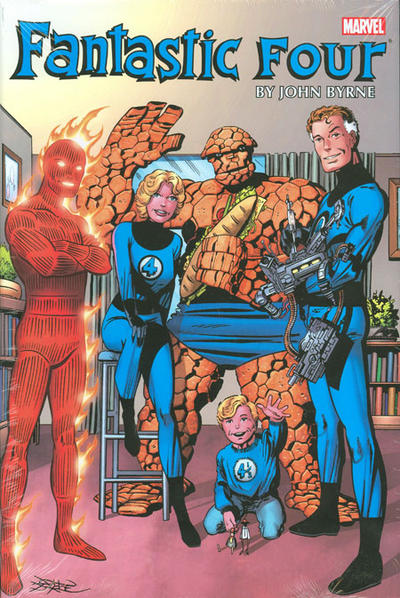 Cover for Fantastic Four by John Byrne Omnibus (Marvel, 2011 series) #1