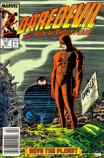 Cover for Daredevil (Marvel, 1964 series) #251 [Direct Edition]
