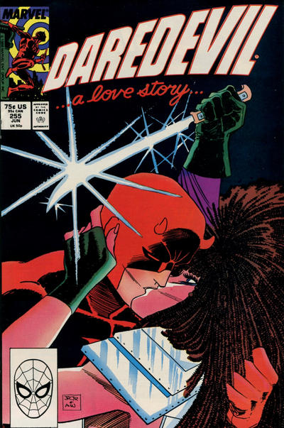 Cover for Daredevil (Marvel, 1964 series) #255 [Direct Edition]