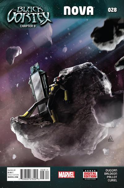 Cover for Nova (Marvel, 2013 series) #28