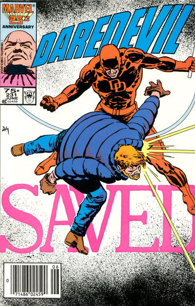 Cover for Daredevil (Marvel, 1964 series) #231 [Direct Edition]