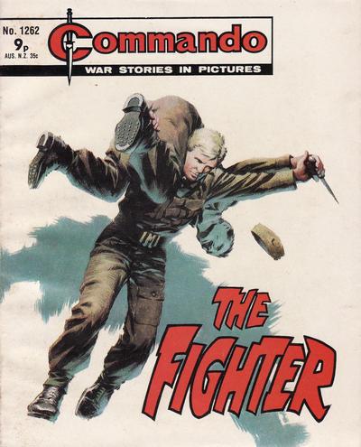 Cover for Commando (D.C. Thomson, 1961 series) #1262
