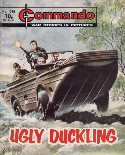 Cover for Commando (D.C. Thomson, 1961 series) #1269