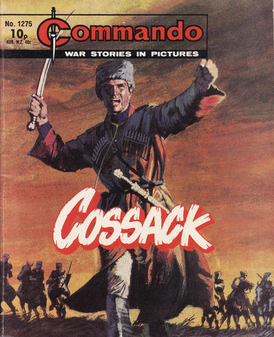 Cover for Commando (D.C. Thomson, 1961 series) #1275