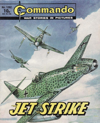 Cover for Commando (D.C. Thomson, 1961 series) #1282