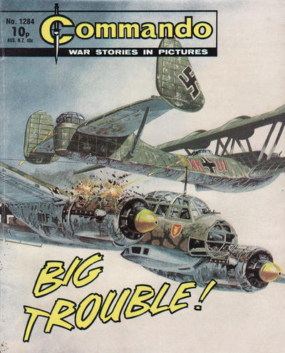 Cover for Commando (D.C. Thomson, 1961 series) #1284