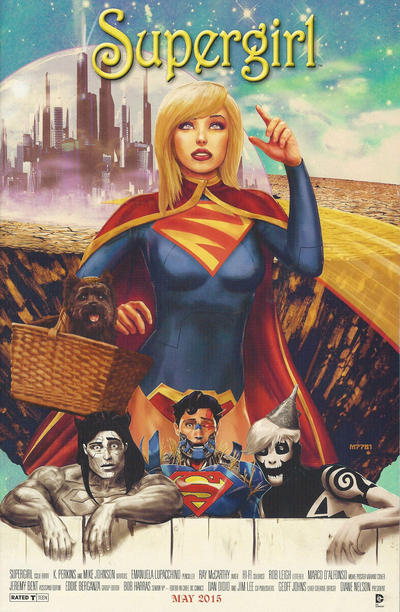 Cover for Supergirl (DC, 2011 series) #40 [Direct Sales]
