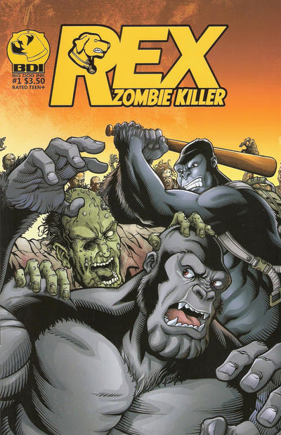 Cover for Rex Zombie Killer (Big Dog Ink, 2013 series) #1