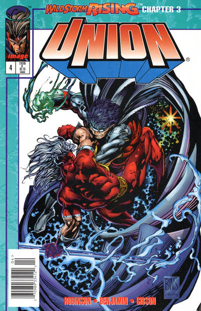 Cover for Union (Image, 1995 series) #4