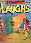 Cover for Broadway Laughs (Prize, 1950 series) #v8#3