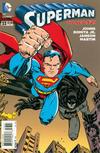 Cover for Superman (DC, 2011 series) #33 [Batman 75th Anniversary Cover]