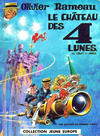 Cover for Jeune Europe [Collection Jeune Europe] (Le Lombard, 1960 series) #77 - Olivier Rameau -  Le château des 4 lunes