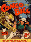 Cover for The Adventures of Congo Bill (K. G. Murray, 1954 series) #3