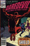 Cover Thumbnail for Daredevil (1964 series) #298 [Newsstand Edition]